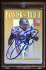 1999 ELITE PASSING THE TORCH AUTO EMMITT SMITH FRED TAYLOR RARE DUAL AUTO HOF?