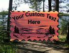 Personalized Custom Carved Wood Sign Routed Redwood Rustic Plaque Home Decor