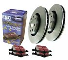 EBC S1KF1111 Stage 1 Front Brake Kit fit Geo Prizm 89 92 16 fit Toyota Corolla