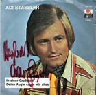 Single / ADI STASSLER / RUDI LUKSCH / AUTOGRAMM / RAR
