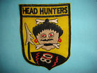 VIETNAM WAR PATCH, USAF  80th FIGHTER SQUADRON  HEADHUNTERS