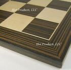 22 Ebony Black  Maple Wood Large Chess Board