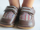 Toddler Shoes Squeaky Shoes Boys Brown w Plaid Dress Shoes Up to S