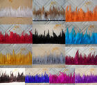 High quality pheasant Neck Feather Fringe Trim 13 color choice 3 5inch