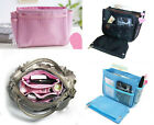 Inside Insert Handbag Makeup Cosmetic Purse Travel Organizer Bag in Bag Pouch