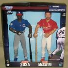 "Starting Lineup MLB 1999 Sammy Sosa & Mark McGwire 12"" Figures Sultans of Swing"