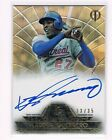 Vladimir Guerrero 2014 Topps Tribute to the Pastime Auto 33 35 Sepia On Card