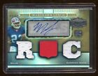 MARSHAWN LYNCH 2007 TRIPLE THREADS RC AUTO #D 89 89 LAST ONE MADE PATCH JRY JRY