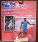 CHRIS WEBBER Error? Starting Line Up Wizards #4 Bullets Card Basketball Figure