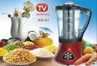 100% Natural Weight Body Fat Loss 6 Functions HOT COLD SOUP MAKER BLENDER COOKER