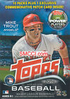 2014 Topps Baseball Series 1 Unopened Blaster Box with One EXCLUSIVE Patch Card