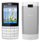 Nokia X Series X3 02 Touch and Type White silver Unlocked Cellular Phone 3G