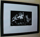 Guns N' Roses Slash Axl Rose 1st gig with Les Paul fine art photo signed 29 100