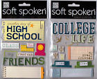 MAMBI Soft Spoken HIGH SCHOOL COLLEGE themed dimensional stickers Awesome