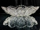 Rare American Brilliant ABP Glass Ice Cream Dish Bowl HobStar Harvard Crystal