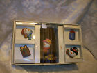 FITZ & FLOYD HOME FRAGRANCE FROSTY FOLKS CANDLE GIFT SET CHRISTMAS SNOWMAN