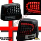 06 07 08 Dodge Charger R/T SE SRT8 SXT Base Black LED Tail Lights Lamps 1 Pair