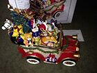 FITZ AND FLOYD HOLIDAY MUSICALS SANTA MOBILE