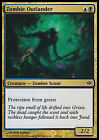 Zombie Outlander X4 EX NM Conflux MTG Magic Cards Gold Common