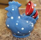Temp-tations Polka Dot Figural Chicken 5-pc. Measuring Spoon Set K29373