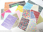 Creative Memories Mini ABC 123 Letters  Numbers Sassy  Classy You choose