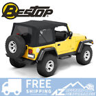 Bestop Replace A Top Black Twill For 97 06 Jeep Wrangler TJ Doors Not Included