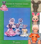 Air Freshener Covers Series Crochet Patterns + Granny & Animal Heads