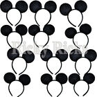 8 Mickey Ears Minnie Mouse Headbands Party Favors Costume Favors Plush