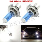 QTY2 H4 9003 4500K White XENON HID HALOGEN HEADLIGHT BULBS LOW HIGH BEAM