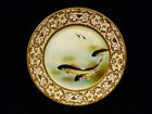 HAND PAINTED FISH PLATE - CIRCA 1900