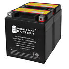 Mighty Max YTX7L BS 12V 6AH REPLACEMENT FOR ATV MOPED BATTERY W WARRANTY 2 PACK
