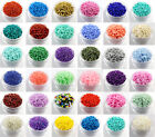 Czech 22g 2mm 3mm 4mm Round Lot Colorful Glass Seed Beads DIY Jewelry Making