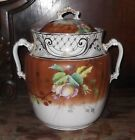 Antique Victorian Slop Jar ~AJ Wilkinson England ~magnificent gilding ~ 14