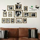 13 Pcs Photo Frames Sweet Memory Removable Vinyl Decals Home Decor Wall Stickers
