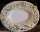 Vintage Ceramica Italy Cherub decorated Platter large ceramic serving dish