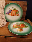 2 Vintage Dutch Decorative Plates -Petrus Regout & Co Maastricht Made in Holland