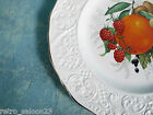 Marlborough Old English Ironstone Plate Fruits Berries Grapes Simpsons Pottery