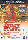 2013 Topps Series 2 Baseball Unopened Blaster Box 10 packs Patch card IN STOCK