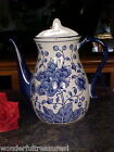 Delft Style COBALT Blue White Handled Tea Coffee Pot WALL POCKET URN Vase NEW! !