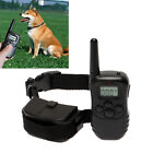 New LCD Remote Control 100LV Static Shock Vibration Pet Dog Training Collar Hot