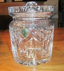 Waterford Crystal Lismore Biscuit Barrel & Lid - New In Box