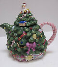 1991 Spode Christmas Shape with Santa Claus Lid Tea Pot