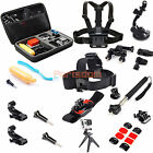 Monopod Chest Strap Mount Bag Case Accessorie Set For Gopro Hero 2 3 3+ 4 SJ4000