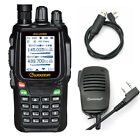 Wouxun KG-UV8D 134-174/400-520MHz Repeater 999CH Two-way Radio + Speaker + Cable