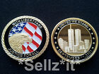 1oz gold Coin Eagle September 11th 911 New York City United we Stand Man USA
