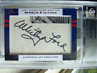 Whitey Ford W@W 2 4 Oversized Auto 2012 Leaf Sports Icons Yankees Hall of Fame