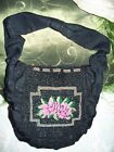 VINTAGE  PURSE / GRACELINE ORIGINAL 1940S  /MORAY FABRIC  HAND  BEADED ROSES