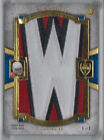 2011 Topps Supreme Letter Patch Relic Rookie RC Ryan Williams 1 1 Dallas Cowboys