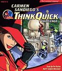Carmen Sandiego THINK QUICK CHALLENGE - Kids Memory PC/MAC Game - NEW - $2 S