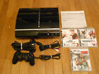 Sony PlayStation3 40 GB Piano Black Console (NTSC) + Games!!!